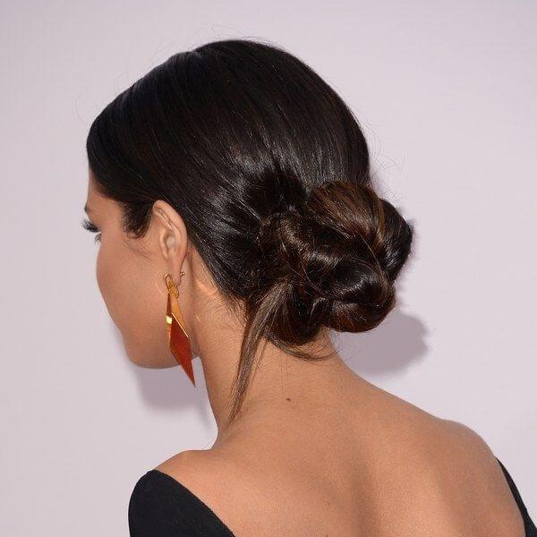 Sleek Chignon Hair