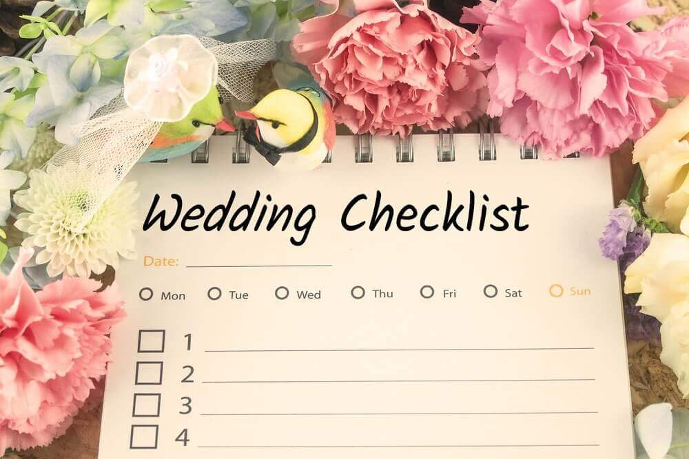 Tips to reduce wedding stress