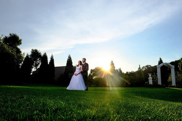 sunset wedding venue